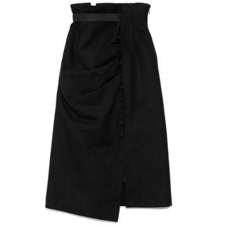 snidel - ドレープデザインタイトスカート