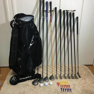 ⛳️初心者ゴルフ応援📣名器キャロウェイほか メンズゴルフ11本 バッグ付‼️
