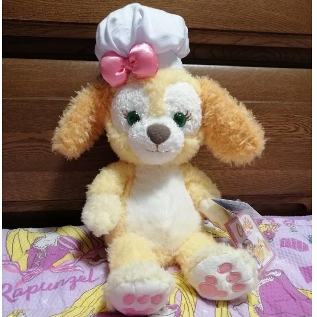 Disney(ディズニー)の香港ディズニー ぬいぐるみ クッキー Sサイズ エンタメ/ホビーのおもちゃ/ぬいぐるみ(ぬいぐるみ)の商品写真