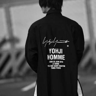 ヨウジヤマモト(Yohji Yamamoto)のyohjiyamamoto スタッフシャツ 18SS(シャツ)