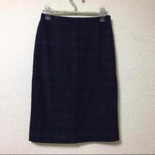 ストラ(Stola.)のストラ♡チェックタイトスカート(ひざ丈スカート)