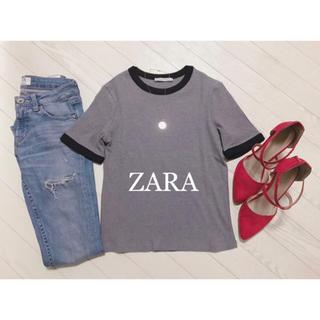 ZARA - ZARA リブトップス