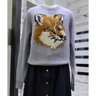 MAISON KITSUNE' - メゾンキツネ fox knit
