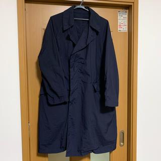 コモリ(COMOLI)のTEATORA 19ss Device Coat packable ネイビー(ステンカラーコート)