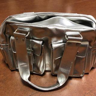 セシルマクビー(CECIL McBEE)のCECIL McBEE bag シルバー(ハンドバッグ)