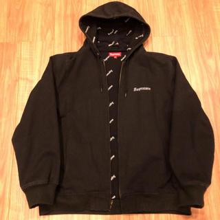Supreme - supreme 2-tone hooded work jacket