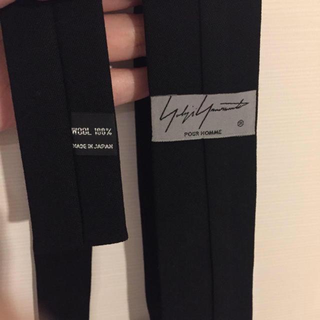 Yohji Yamamoto(ヨウジヤマモト)のYohji Yamamoto 虚無妄想 ネクタイ メンズのファッション小物(ネクタイ)の商品写真
