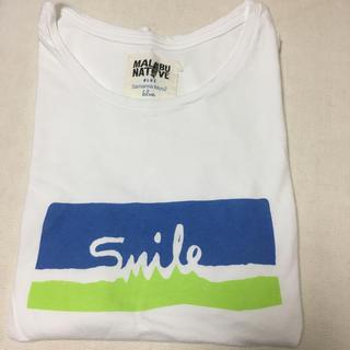 サマンサモスモス(SM2)のブルー サマンサモスモス Tシャツ(Tシャツ(半袖/袖なし))