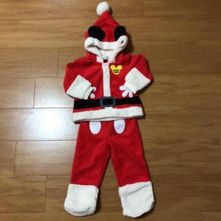 Disney - ディズニー ミッキー サンタ コスプレ 衣装 80