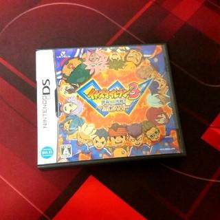 ニンテンドウ(任天堂)のDSソフト イナズマイレブン3世界への挑戦!!ボンバー(携帯用ゲームソフト)