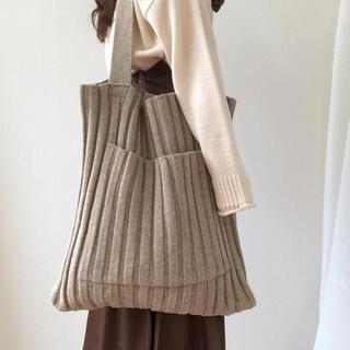 TODAYFUL - Big lib knit tote
