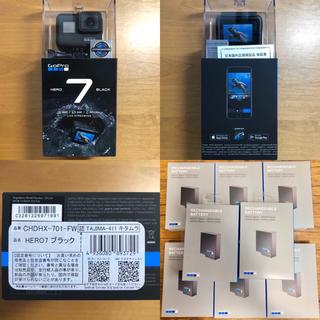 ゴープロ(GoPro)の「特価」GoPro HERO7 BLACK 本体2点 バッテリー12点(コンパクトデジタルカメラ)