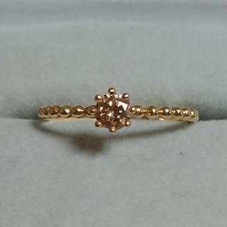 K18YG ダイヤモンドリング(9~10号)(リング(指輪))