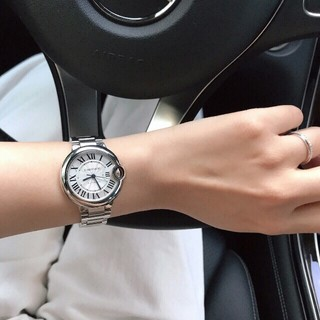カルティエ(Cartier)のCARTIERカルティエ腕時計ブルーバルーンシリーズ33 mm機械女子時計(腕時計)