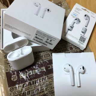 Apple - 【ビックカメラの保証付き】AirPods ワイヤレスイヤホン