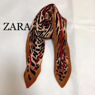 ZARA - ZARA ザラ レオパード ストール