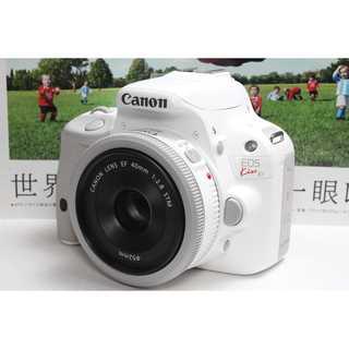 Canon - ❤️超人気ホワイトカラー❤️Canon Kiss X7 パンケーキレンズセット