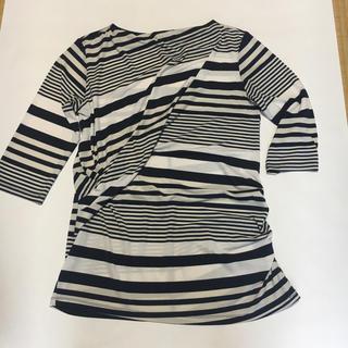 ドゥクラッセ 7分袖カットソー  Lサイズ(カットソー(長袖/七分))