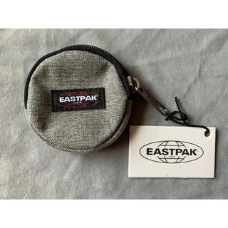 EASTPAK - EASTPAK ラウンド型コインパース グレー 送料無料です!