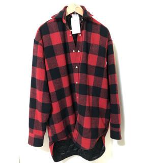 バレンシアガ(Balenciaga)のヴェトモン オバーサイズシャツJKT 新品 S(ブルゾン)