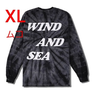 Ron Herman - Wind and sea TIE-DYE(palm tree)L/S Tee