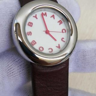 マークバイマークジェイコブス(MARC BY MARC JACOBS)の数回使用!MARC BY MARCJACOBS!電池交換済(腕時計)