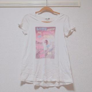 ヘザー(heather)のHeather半袖Tシャツヘザー白ホワイト(Tシャツ(半袖/袖なし))