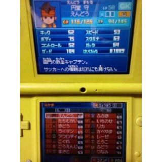 ニンテンドウ(任天堂)のDSソフト イナズマイレブン2脅威の侵略者ブリザード 確認用(携帯用ゲームソフト)