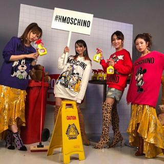 H&M - H&MOSCHINO♡ディズニーコラボミッキーパーカーワンピース