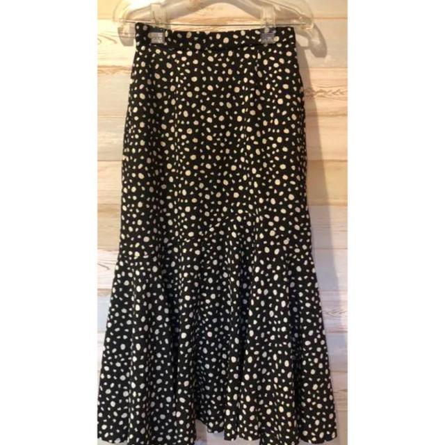 しまむら(シマムラ)の新品 プチプラのあや レオパード柄 スカート M レディースのスカート(ロングスカート)の商品写真