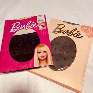 バービー(Barbie)の💖二足セット💖新品未使用💖バービーストッキング💖(タイツ/ストッキング)