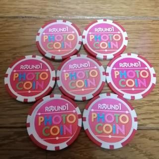 ラウンドワン フォトコイン 7枚(ボウリング場)