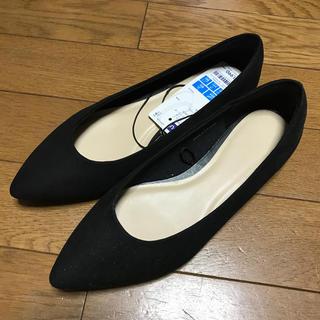 ジーユー(GU)のGU★ジーユー マシュマロパンプス  S ブラック(ハイヒール/パンプス)