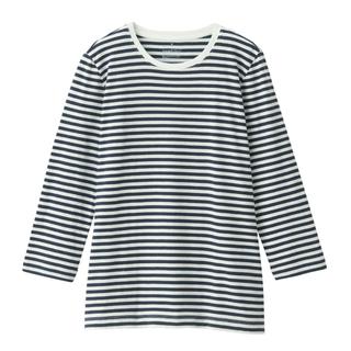 MUJI (無印良品) - ボーダーTシャツ