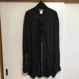 ヨウジヤマモト(Yohji Yamamoto)のフリンジデザイン ヨウジヤマモト プールオム (シャツ)