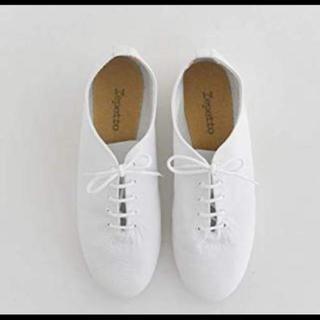 レペット(repetto)のrepetto ジャズ バレエシューズ 38(ローファー/革靴)
