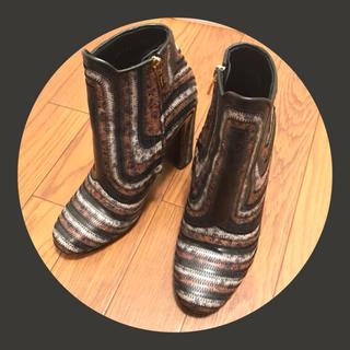 サルヴァトーレフェラガモ(Salvatore Ferragamo)のSalvatore Ferragamo ♡ブーツ(ブーツ)