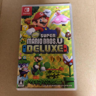 Nintendo Switch - New スーパーマリオブラザーズ U デラックス ★任天堂スイッチ