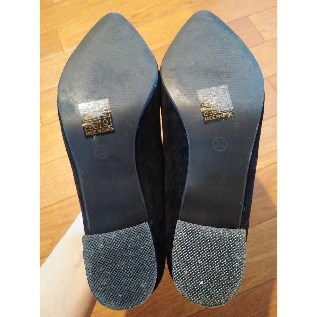 SVEC シュベック パンプス 黒 ブラック レディースの靴/シューズ(ハイヒール/パンプス)の商品写真