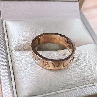 ブルガリ(BVLGARI)のブルガリ ピンキーリング ピンクゴールド(リング(指輪))