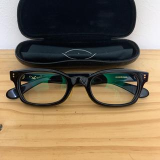 テンダーロイン(TENDERLOIN)のTENDERLOIN 白山眼鏡 黒金 IN THE WIND インザウィンド(サングラス/メガネ)