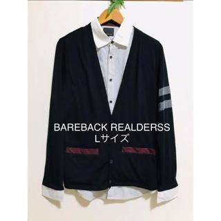 BAREBACK REALDERSS ドレスシャツ 重ね着 デザインカットソー