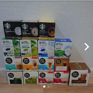 Nestle - ネスレ ドルチェグスト カプセル 16箱
