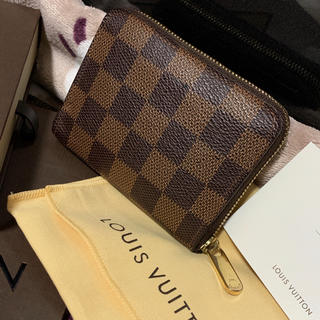 LOUIS VUITTON - 【最安値⭐️】ルイヴィトン ダミエ ジッピー 小銭入れ