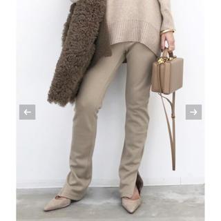 L'Appartement DEUXIEME CLASSE - アパルトモン  Wool Zip Leggings  レギンス