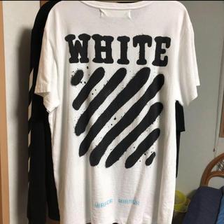 OFF-WHITE - offwhite スプレーT