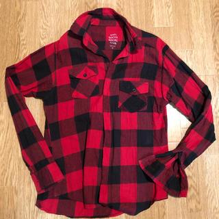 アンチ(ANTI)のANTI SOCIAL SOCIAL CLUB チェックシャツ(シャツ)