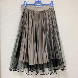 ココディール(COCO DEAL)のココディール チュールスカート(ひざ丈スカート)