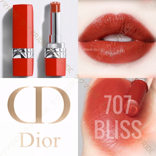 ディオール(Dior)の【新品箱なし】秋冬新作✦ 707 ブリス ルージュディオール ウルトラバーム(口紅)