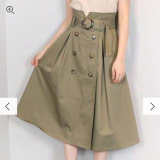 ダズリン(dazzlin)のダズリン(dazzlin) トレンチミモレスカート (ひざ丈スカート)